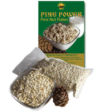 Pine nut flakes - organic health solution