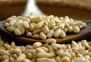 ulcer treatment pine nuts