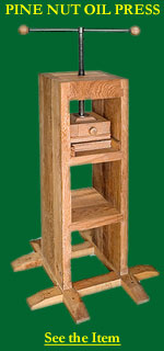 Pine Nut Oil Press
